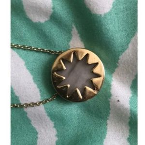 House of Harlow 1960 Jewelry - House of Harlow Mini Marble Sunburst Necklace